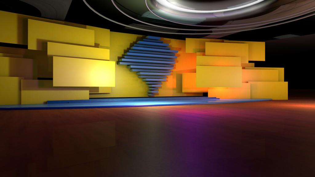 TV 3D Virtual Set - Bom Dia Rio Grande