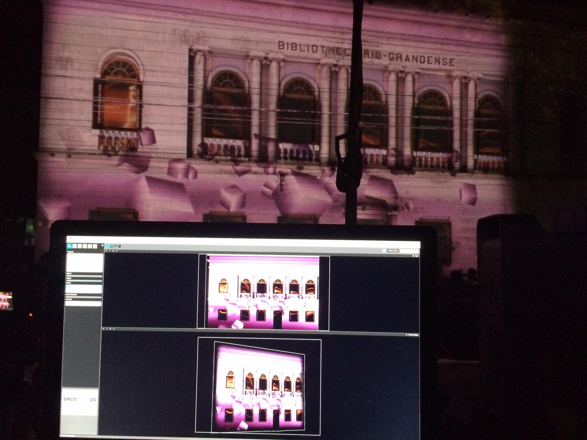 Projection Mapping – Festa do Mar – Motion 3D Mapping