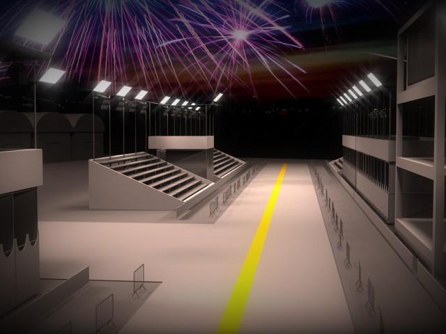 3D Scenario – Sambódromo Porto Alegre – RBSTV