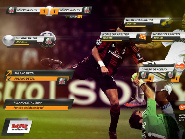 Graphic Kit for Sports Transmissions – TVCOM