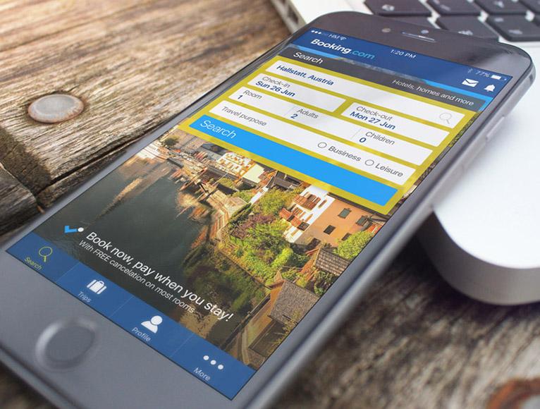 Booking.com APP – UX/UI