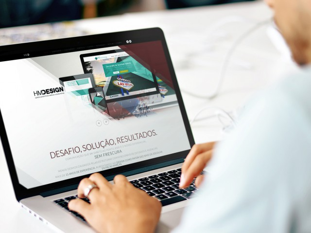 HMDesign Website – UI-UX