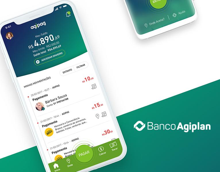 Agipag – Agibank – UX-UI Design