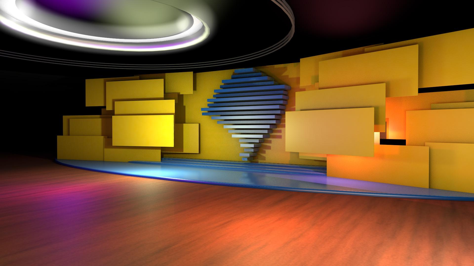 TV Virtual Set – Bom Dia Rio Grande – RBSTV