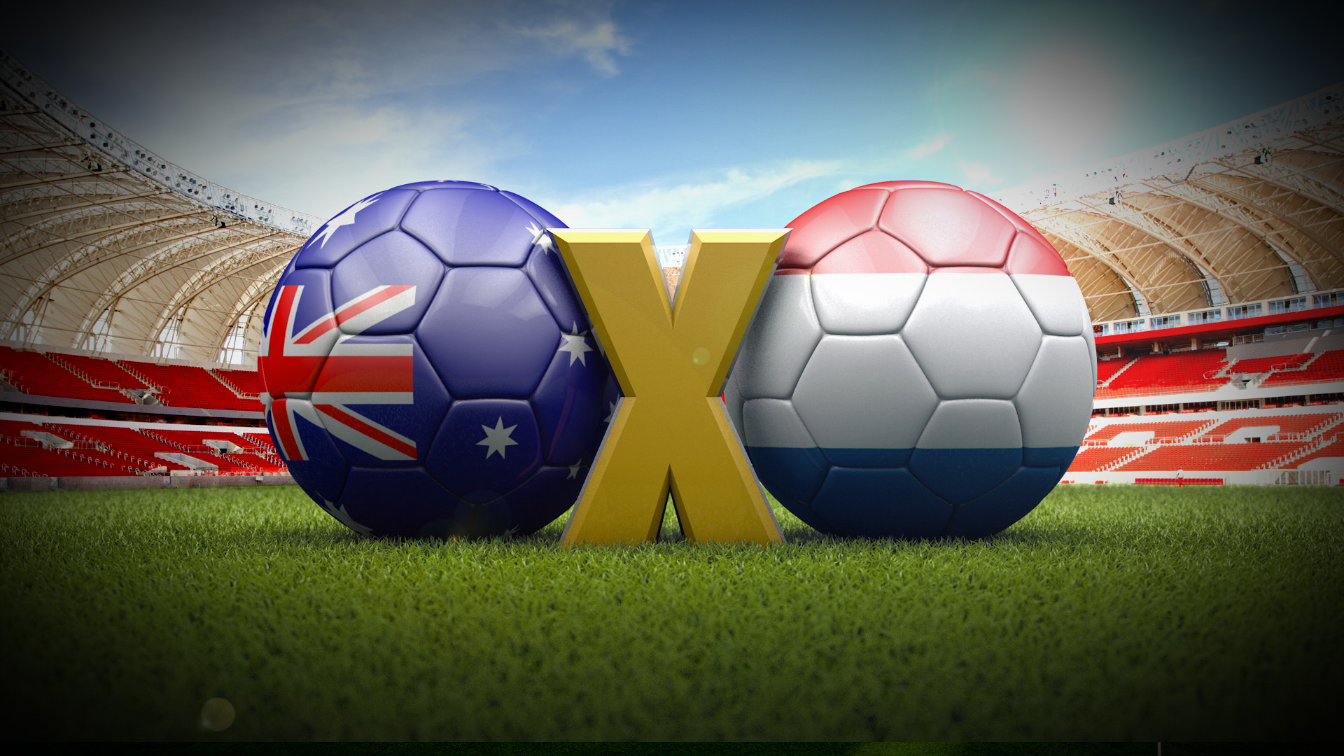 World Cup 2014 Clashes – 3D for RBSTV