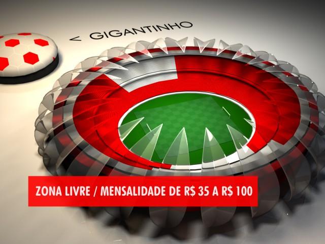 Beira Rio Stadium – 3D Presentation for TV – Jornal do Almoço – RBSTV
