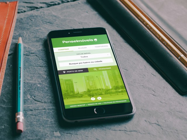 Pense Imóveis Real Estate Classified – Mobile Website – 320 Grid