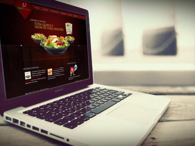 UniSuper – Supermarket Website – UI-UX