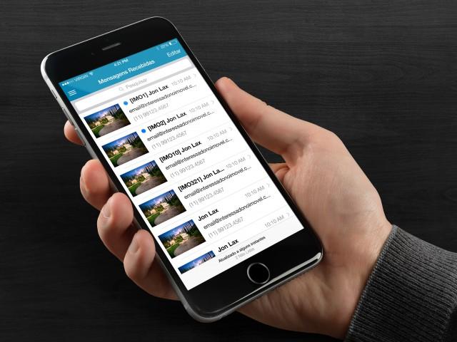 Zap Realtor App – iOS and Android – Aplicativo do Corretor – UI –